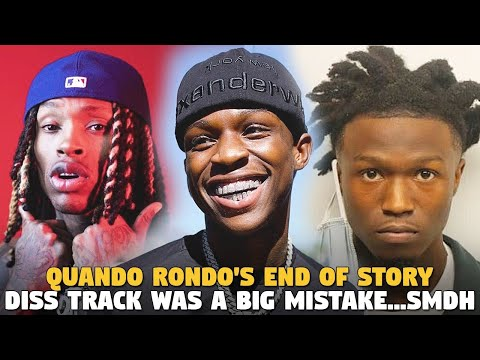 Quando Rondo's END OF STORY Diss Track WAS A BIG MISTAKE....SMDH