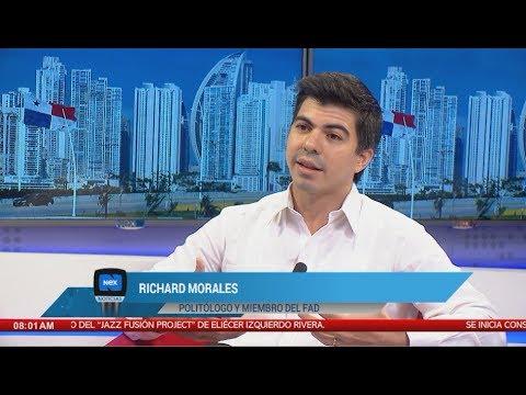 """Richard Morales: """"Algunos se enriquecen a costa del estado"""""""