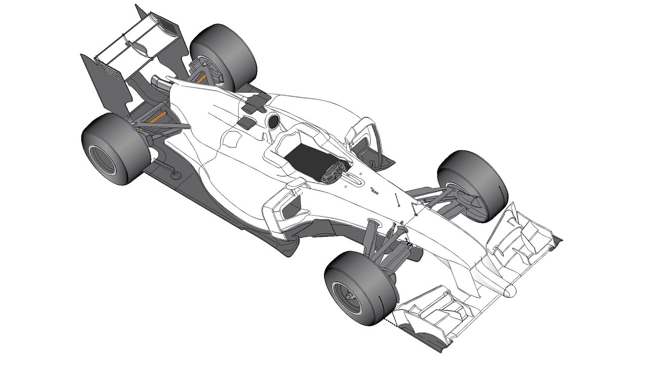 The 2014 F1 car - general car layout - The Racer\'s Edge 41 Part 2 ...