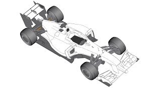 The 2014 F1 car - general car layout - The Racer