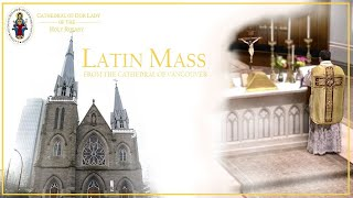 Vancouver Cathedral Live -  Friday May 14, at 6:30 PM, Latin Mass