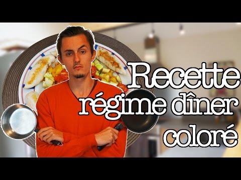 recette-rÉgime-dÎner-colorÉ-facile