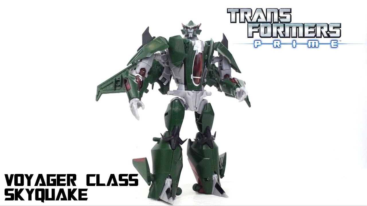 Video Review of the Transformers Prime (RiD) Voyager Class ...
