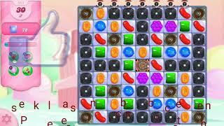 Candy crush saga level 1411/No Booster