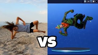 FORTNITE Backflips in Real Life!