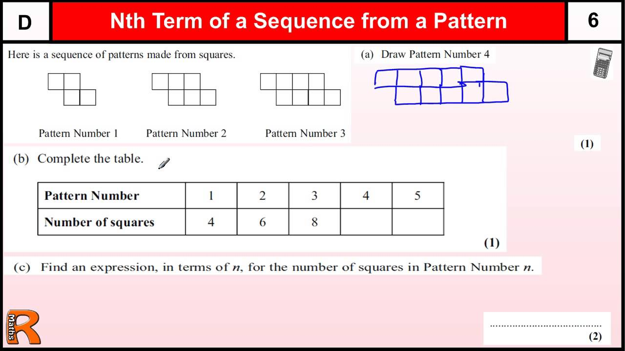 nth term past paper questions Today's question is on nth term past papers pick a subject exam question - nth term david banks february 9, 2017 gcse maths.
