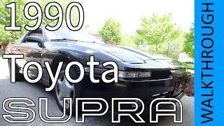 1990 toyota supra turbo mk 3   walkthrough review