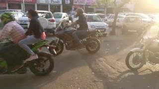 Super Bikes Rally in Ahmedabad on Republic Day 2017