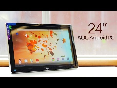 Android PCs, are they worth it? (AOC A2472PW4T Monitor Review)