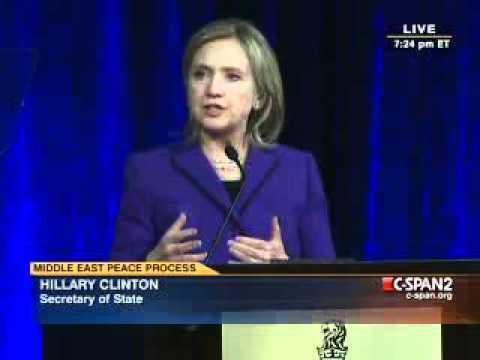 STUNNING HOPE -  Hillary Clinton on Palestine Israel (1)