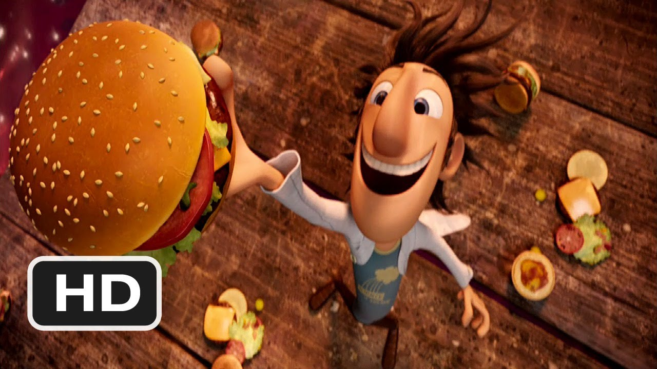 Cute Hamburger Wallpaper Cloudy With A Chance Of Meatballs 2 Movie Clip Raining