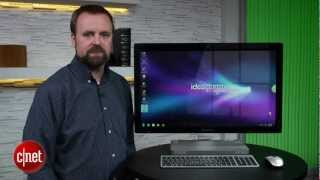 Lenovo IdeaCentre touch screen PC - First Look