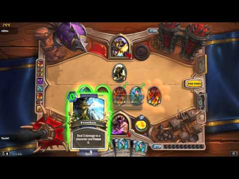 Spam Mage 2 comeback Hearthstone