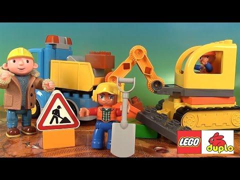 Et Pelleteuse De Duplo La Le Lego Chantier Camion Jeu HWIYED29