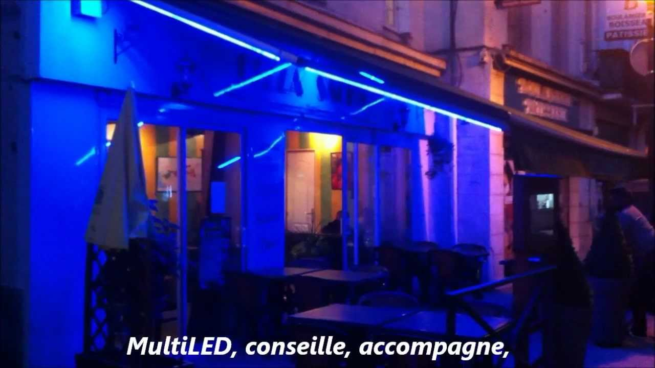 multiled eclairage led int rieur ext rieur r alisation en led maine et loire youtube. Black Bedroom Furniture Sets. Home Design Ideas