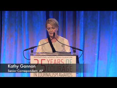 AP Correspondent Kathy Gannon remembers Anja Niedringhaus