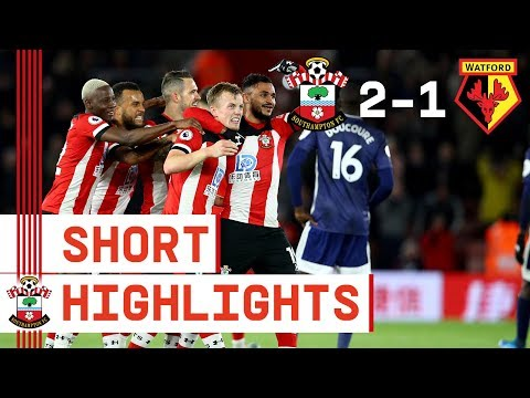 90-SECOND HIGHLIGHTS: Southampton 2-1 Watford | Premier League