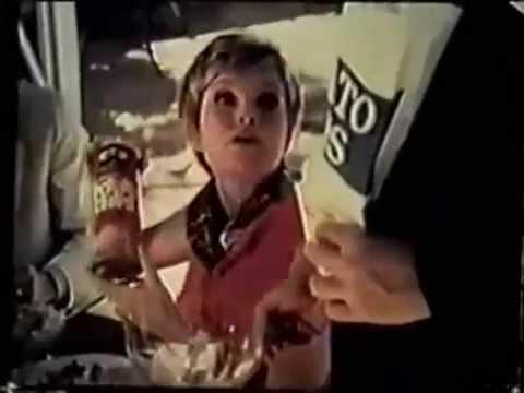 Pringles 1970 Commercial