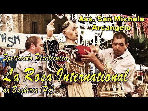 CALAMONACI (Ag) - San Vincenzo Ferreri 2017 - LA ROSA International