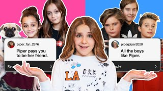 REACTING To ASSUMPTIONS About Us (GIRLS vs BOYS) *FUNNY Q* | Piper Rockelle