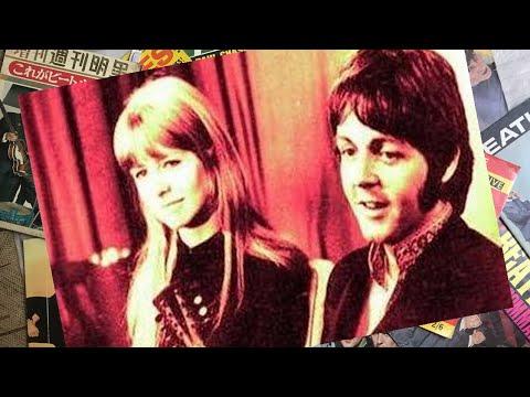 ♫ Paul McCartney & Jane Asher ed after returning from India.1968