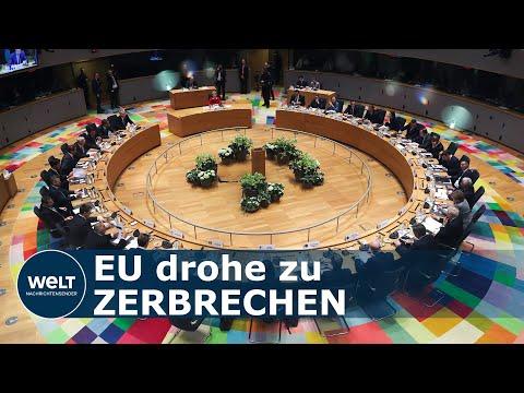 CORONA-KRISE ZERRT AN EUROPA: EU-Länder Im Alleingang –