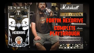 Fortin Amplification Hexdrive Metal & Chicken Pickin!