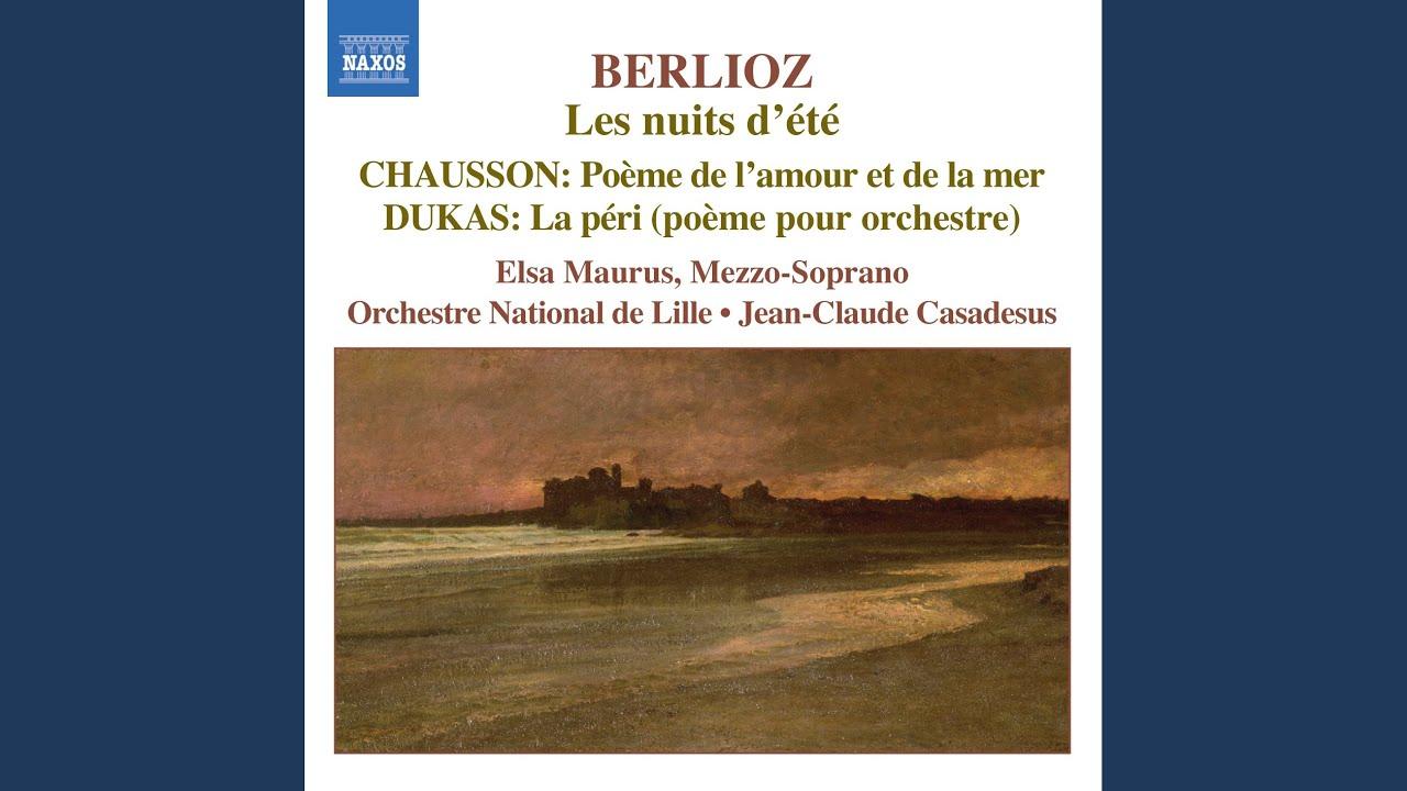Poeme De Lamour Et De La Mer Poem Of Love And Of The Sea Op 19 No 2 Interlude