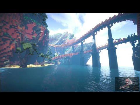 [Minecraft Tineplase] Công trình Thành phố do cả Team Provn Xây
