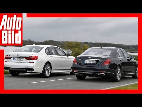 Mercedes S Klasse Vs Bmw 7er 2017 Testreviewdetails Youtube