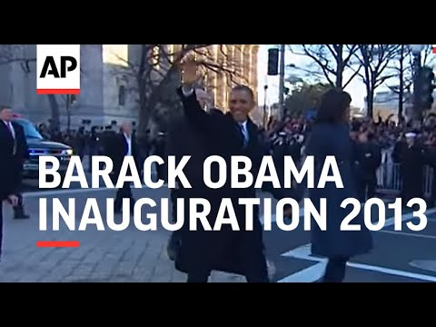 President Barack Obama Inaugural Parade - 2013