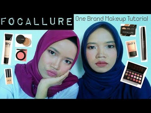 FOCALLURE One Brand Make Up Tutorial + HONEST REVIEW │ 2WINs – Tutorial