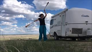 Free Camping at Badlands National Park, 2017