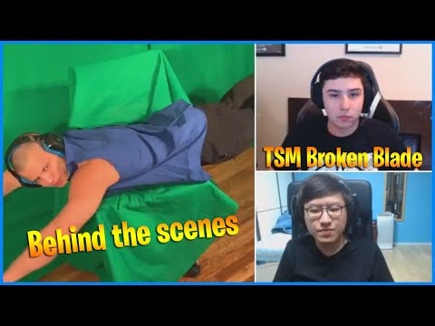 Tyler1 TCS - Behind The Scenes | TSM Broken Blade Insane 1v9 | LoL Daily Moments Ep #287