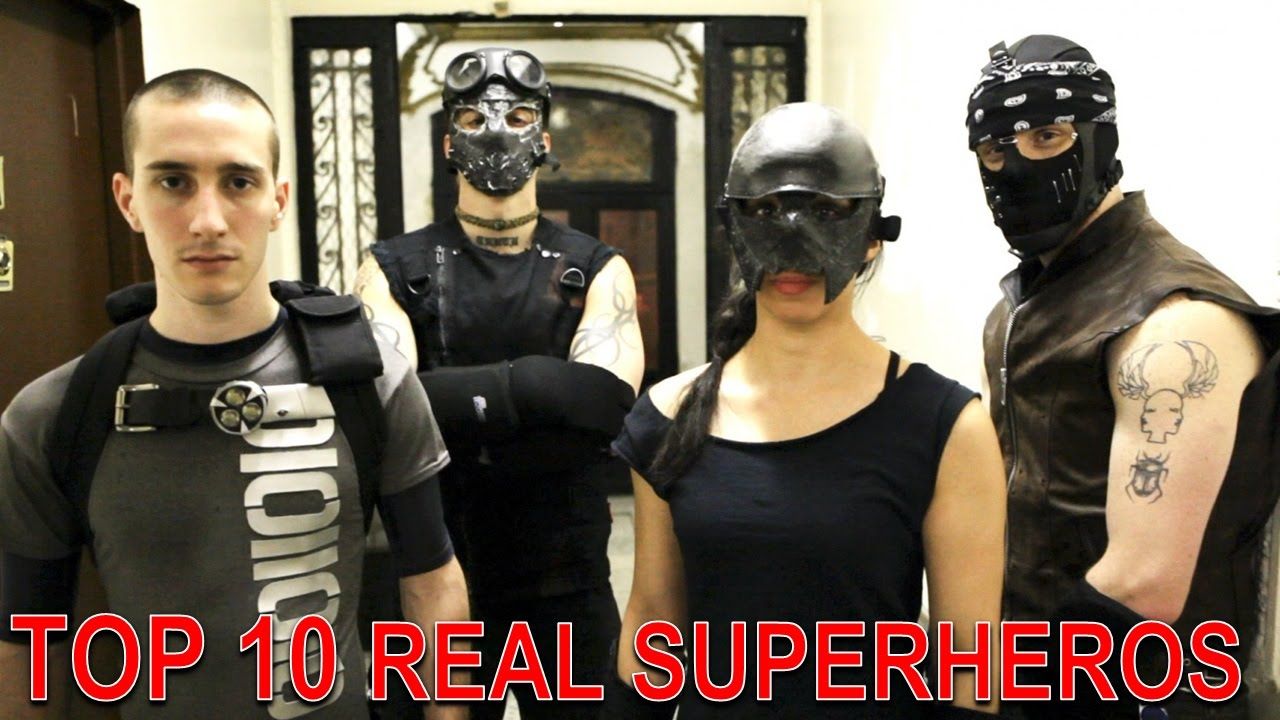 Top 10 Real Life Superheroes Who Actually Exist - YouTube