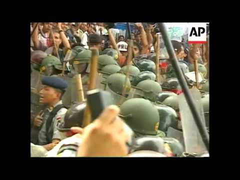 INDONESIA: STUDENTS STAGE ANTI GOVERNMENT RALLIES