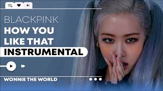 Download BLACKPINK - How You Like That | Official Instrumental