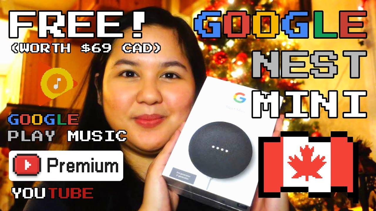 Google giving away Nest Mini free for YouTube Premium members ...