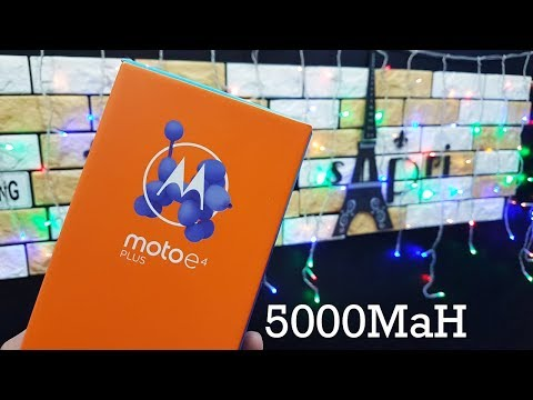 Motorola Moto E4 Plus : Batre Monster 5000MaH Unboxing Indonesia