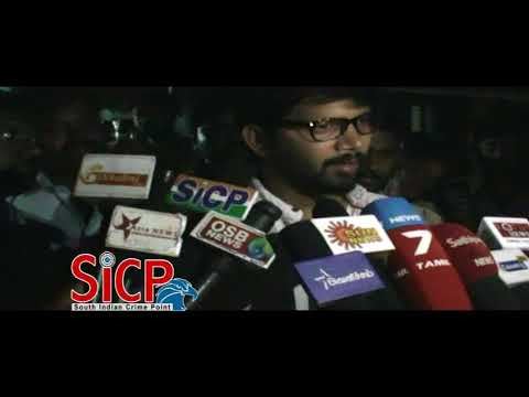 Actor Abi Saravanan donates money, cattle to jallikattu victim's kin