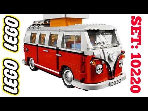 LEGO Creator Volkswagen T1 Camper Van | Lego Set 10220 Review