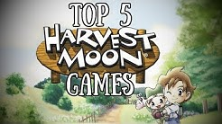 [Top 5] Harvest Moon Spiele!