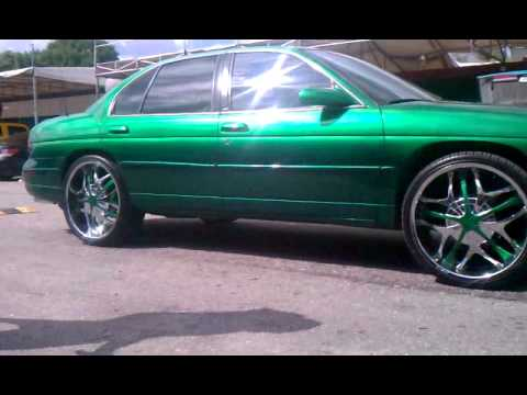 Lumina On 22s Candy Green