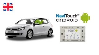 Volkswagen RNS 510 with Android !!! - NaviTouch® Android
