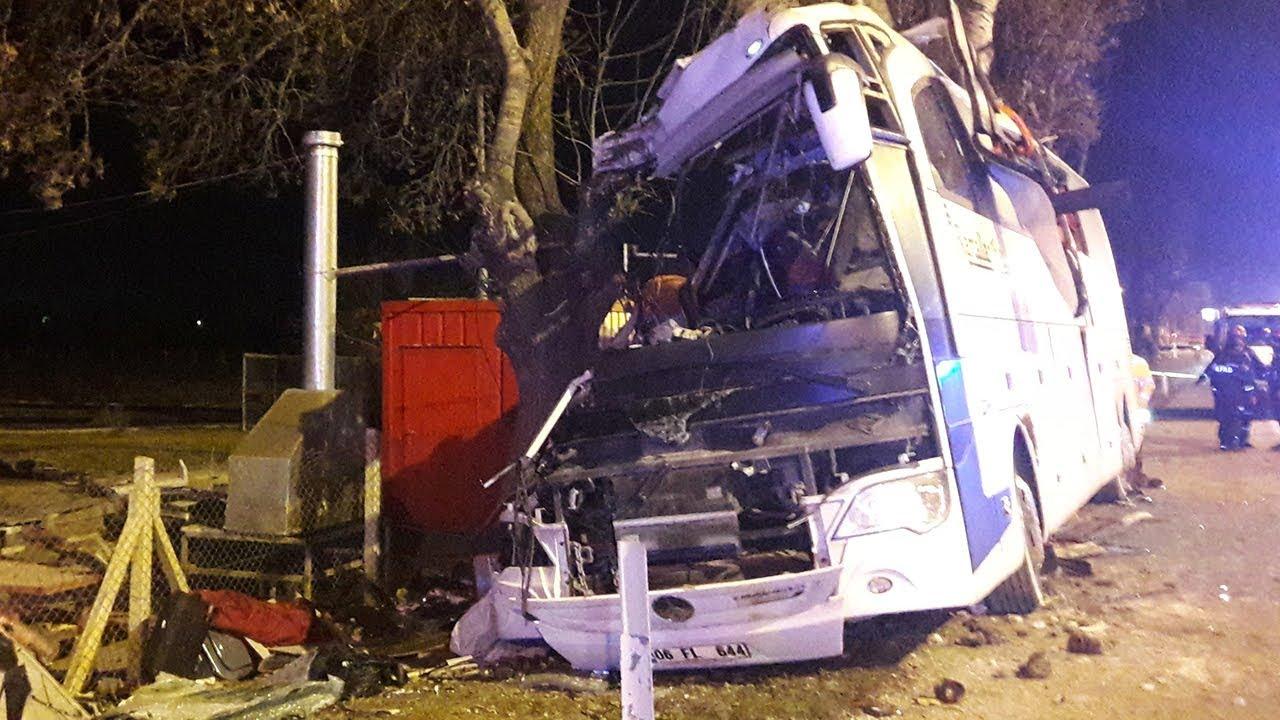 Eskişehirde Otobüs Kazası 13 ölü 42 Yaralı Youtube