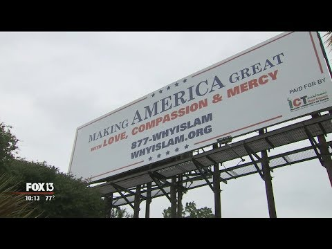 Billboards display religious message -- with a twist