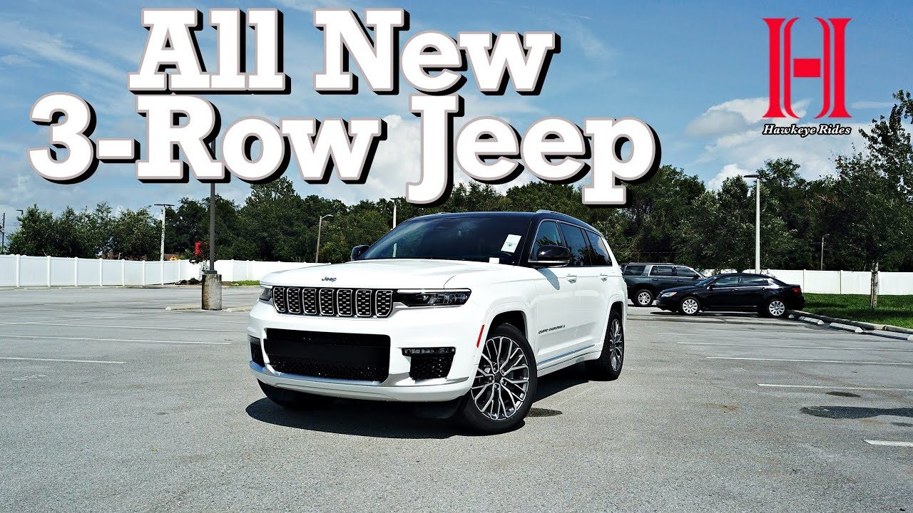 2021 Jeep Grand Cherokee L is the MUCH Better New SUV