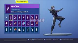 Fortnite - Skins with stages and colors dancing Smooth Moves