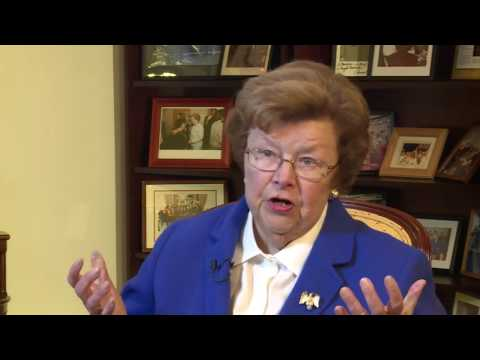 Interview with Sen. Barbara Mikulski