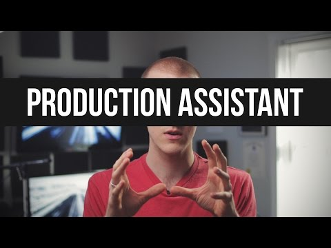 Being A Production Assistant (PA)
